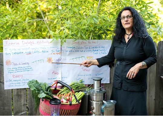 Dr Nicki teaching