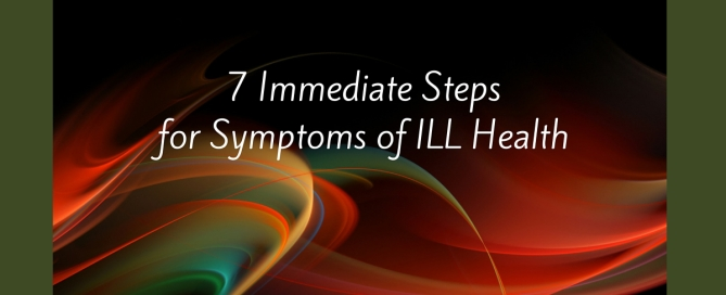 symptoms of ill health